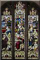 TF5176 : Stained glass window, St Margaret's church, Huttoft by Julian P Guffogg