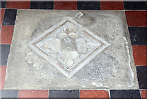 TL6153 : St Mary, Weston Colville - Ledger slab by John Salmon