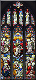 TL6153 : St Mary, Weston Colville - Stained glass window by John Salmon