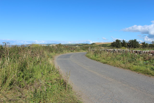 Road out to the A77