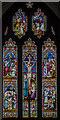 TF3684 : East Window, All Saints' church, Legbourne by Julian P Guffogg