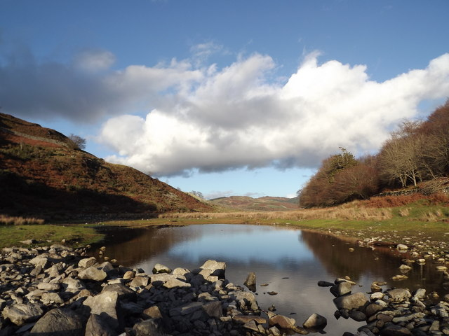The northern end of Llyn Cynwych, Precipice Walk, Dolgellau