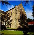 ST2096 : East side of St Paul's Church, Newbridge by Jaggery
