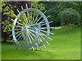 TF0506 : Aluminium artwork near Burghley House by Sandra Humphrey
