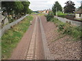 NT3364 : Newtongrange railway station (site), Midlothian by Nigel Thompson