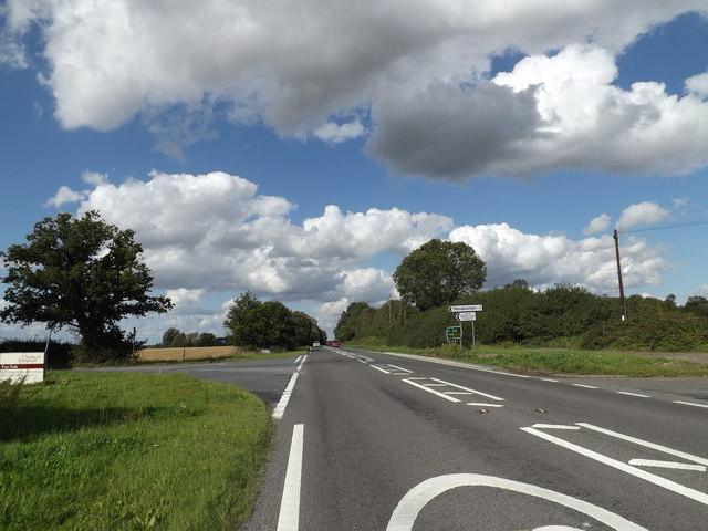 A140 Ipswich Road, Brockford Street