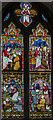 TF3684 : Stained glass window, All Saints' church. Legbourne by Julian P Guffogg