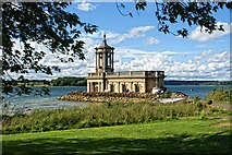 SK9306 : Normanton, Rutland Water by Dave Hitchborne