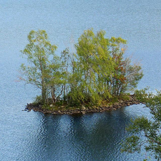 The Crannog on Loch Achilty