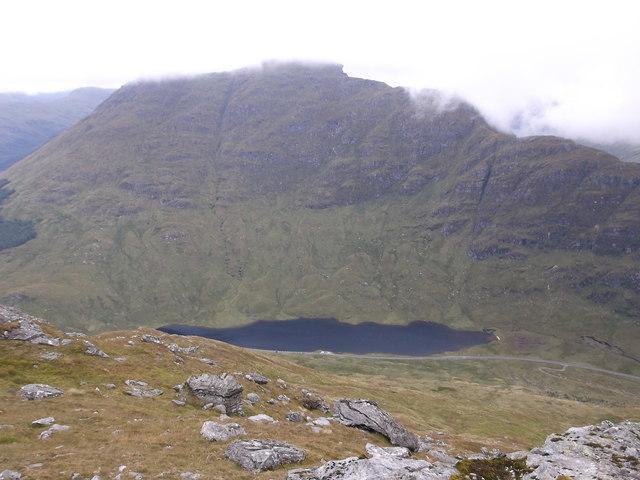 Loch Restil from Beinn Luibhean