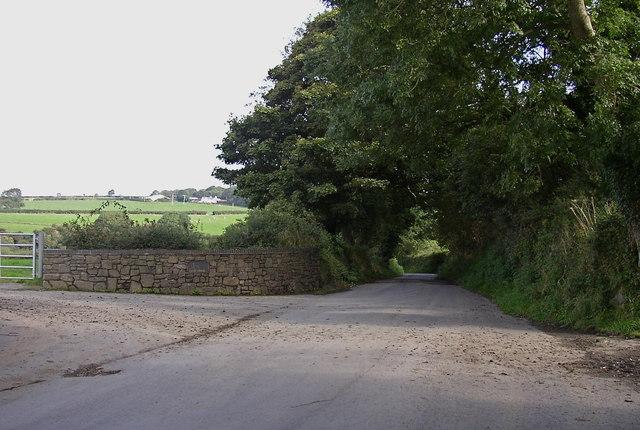 Lane near Glandwr