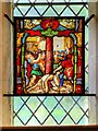 SK3140 : Stained Glass in All Saints' Church by David Dixon