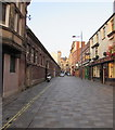 ST3188 : West along Market Street, Newport by Jaggery