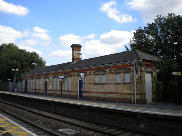 Disused building, Maidenhead station