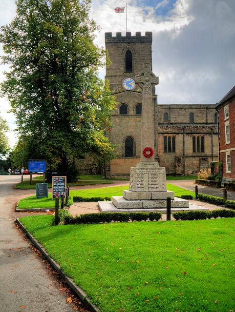 Melbourne War Memorial and Parish Church
