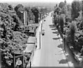 TQ2887 : London (Haringey, 1959: southward from Highgate Archway, 1959 by Ben Brooksbank