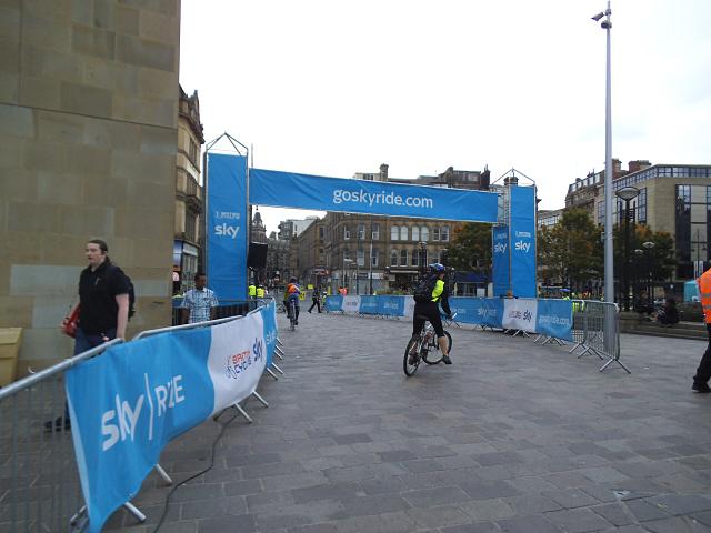 Bradford  Skyride: start point