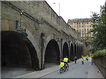 SE1633 : Approach to Bradford Forster Square station by Stephen Craven