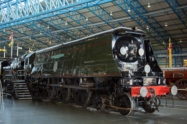 Winston Churchill at the National Railway Museum (1)