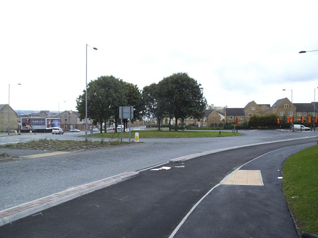Barkerend roundabout, Bradford