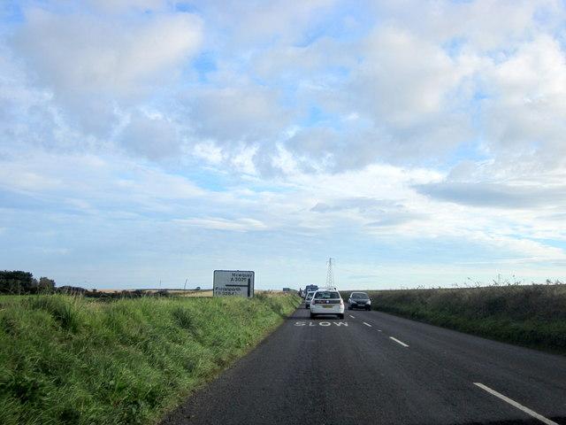 A3075 Near Silverwell Cornwall