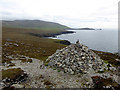 Q3002 : Cairn on Clogher Head by Oliver Dixon