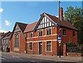 TM1644 : Former St Clement's Parochial Hall, Ipswich by Julian Osley