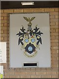 SO0660 : Coat of Arms by the Entrance by Bill Nicholls