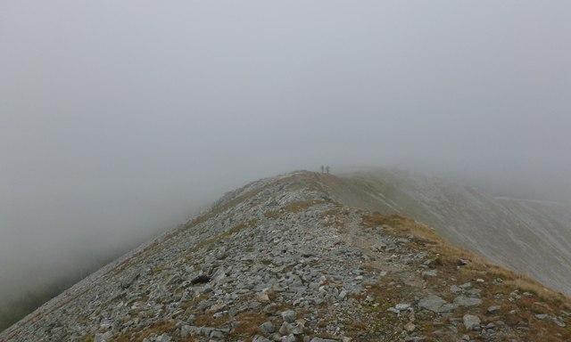 North-west ridge, Sgùrr a' Mhàim
