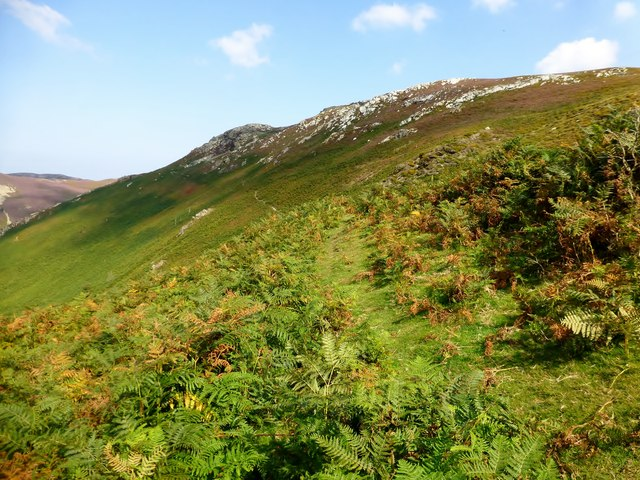 A View Back Along The North Wales Path