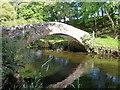 SD0798 : The Drigg Holme packhorse bridge by Richard Law