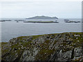 V3098 : View north-west from Dunmore Head by Oliver Dixon