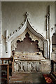 TL6355 : St Augustine, Burrough Green - Recessed tomb by John Salmon