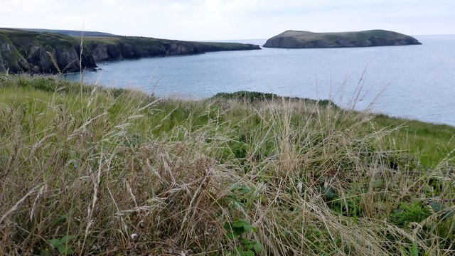 View From The Ceredigion Coast Path