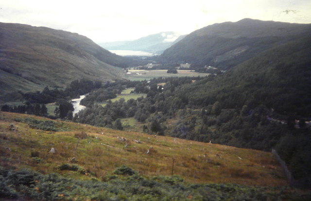 A distant view of Loch Broom in 1967