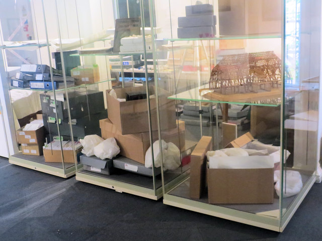 Packing the Exhibits up at the St Albans Museum