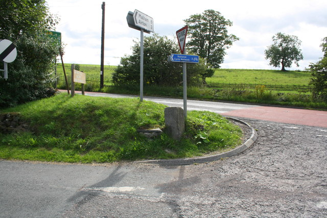Junction of A65 with road to Otterburn