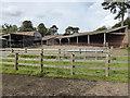 SO5163 : Berrington Hall - farm buildings by Chris Allen