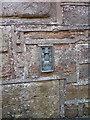 SD0799 : OS Flush Bracket - Drigg, former school by Richard Law