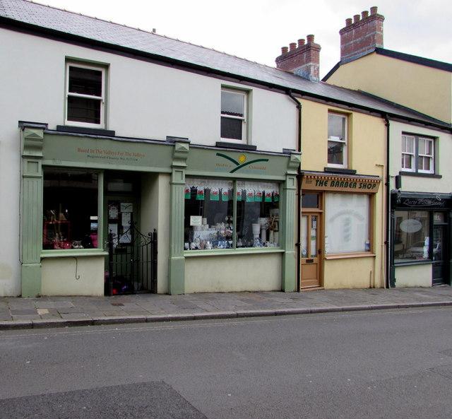 Hosbis y Cymoedd charity shop, Blaenavon
