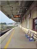 SX9193 : Platform 6 Exeter St Davids Station by Roy Hughes