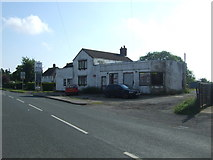 TF4382 : Disused service station on the A157, Withern by JThomas