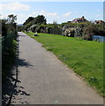 SZ5983 : Cliff Path, Lake, Isle of Wight by Jaggery