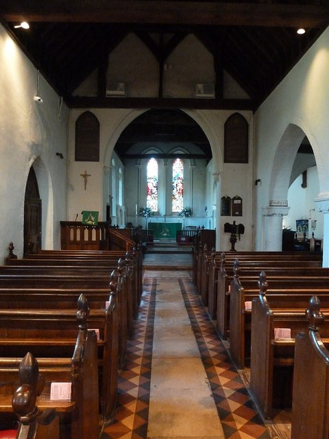 West Wittering - Church of SS Peter & Paul - Nave