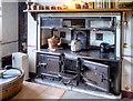 SK1532 : Victorian Range, Sudbury Hall Kitchen by David Dixon