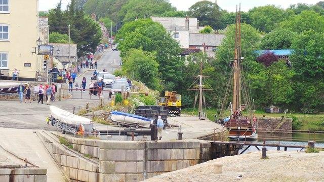 Charlestown Harbour Slipway