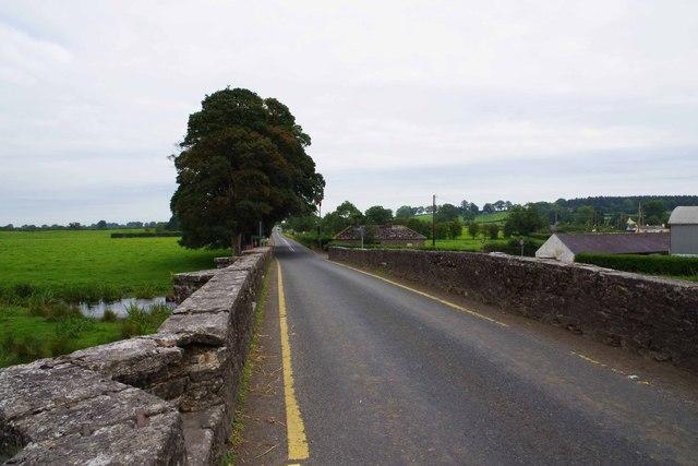 R941 road crossing the River Blackwater, near Kells, Co. Meath