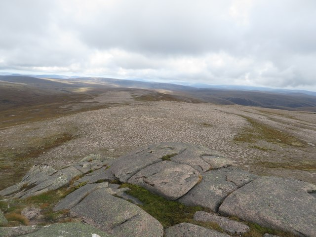 View south from the top of Creag Mhor