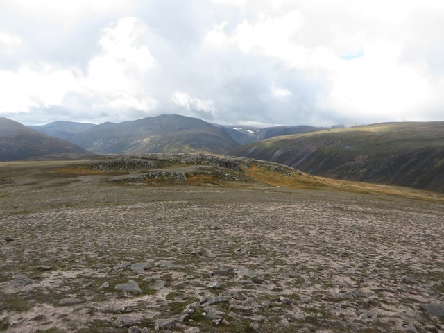 Looking south west from the top of Creag Mhor