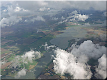 TQ8596 : The River Crouch from the air by Thomas Nugent
